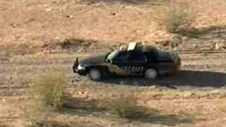 Woman found naked dies in desert