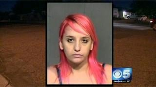 PD: Mom drives with baby on car roof