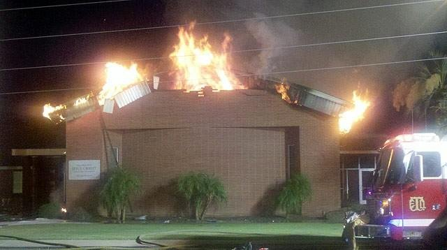 Fire destroys Tolleson LDS Church