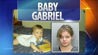 Elizabeth Johnson, missing Baby Gabriel