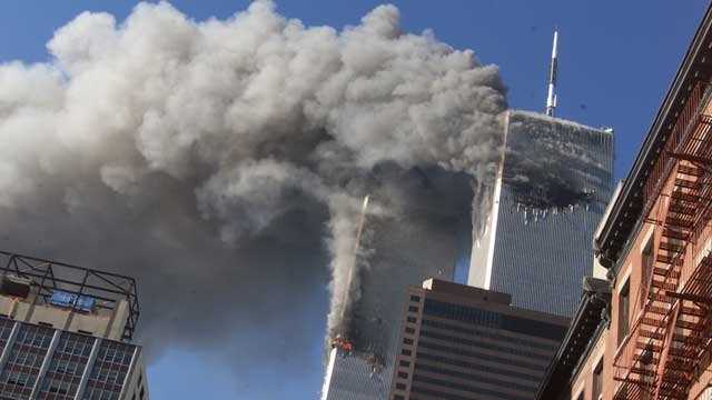 World Trade Center towers, Sept. 11, 2001