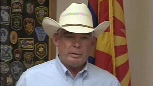 Cochise County Sheriff Larry Dever