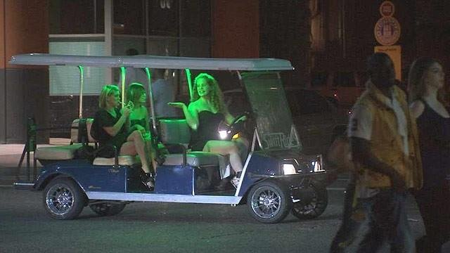 SLIDESHOW: Golf carts gone wild?