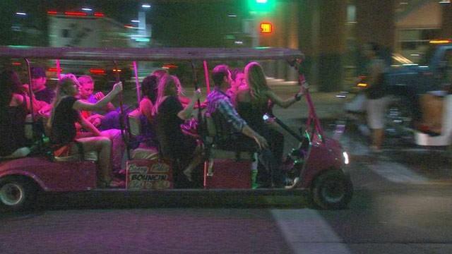 Golf carts in Scottsdale