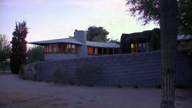 Frank Lloyd Wright house spared - for now