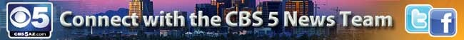 CBS5 on Facebook and Twitter