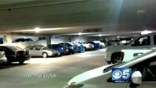 VIDEO: Parking garage