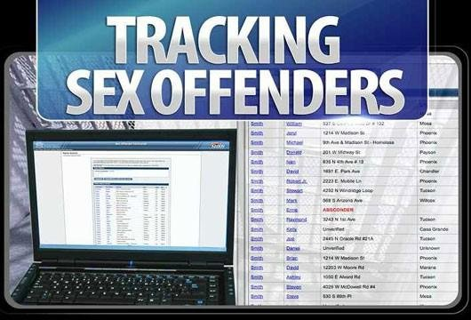 Tracking Sex Offenders graphic