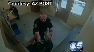 CAUGHT ON TAPE: Officer-suspect confrontation