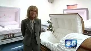 VIDEO: Family cashes in on casket renting
