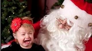 SLIDESHOW: Kids scared of Santa