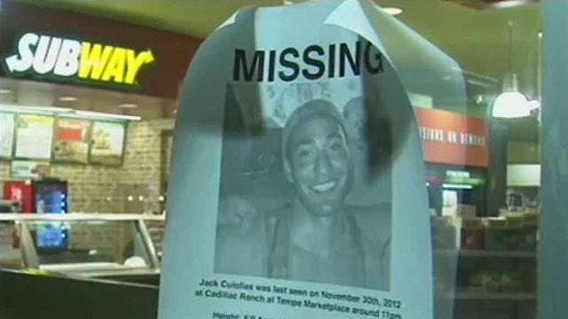 Jack Culolias missing persons poster