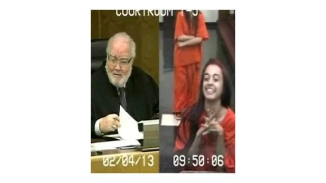 VIDEO: Judge gets last laugh
