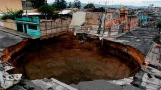 SLIDESHOW: Sinkholes across the world