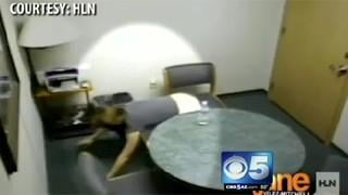 VIDEO: Jodi Arias doing a handstand
