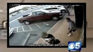 VIDEO: Purse snatch victim dragged!