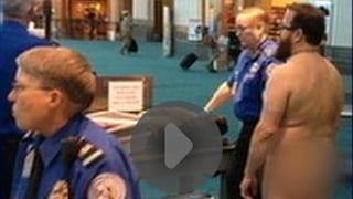 Naked man protests TSA