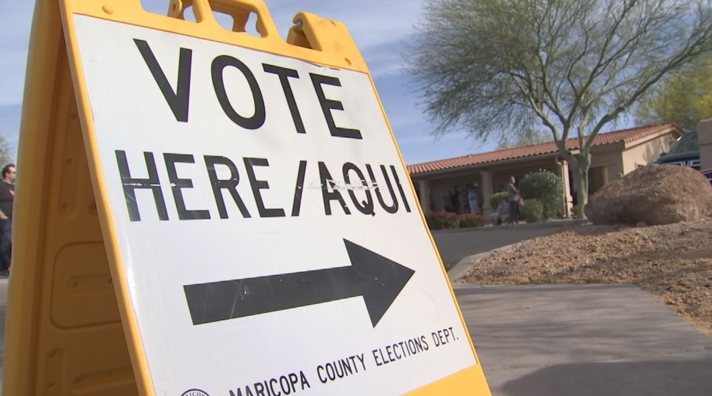 A CBS 5 analysis found polls in last week's Presidential Preference Elections were located in wealthier and whiter neighborhoods (Source: KPHO)