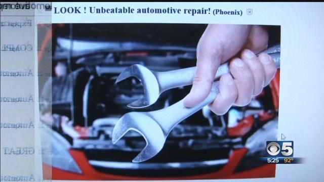 Be wary of backyard auto mechanics on Craigslist