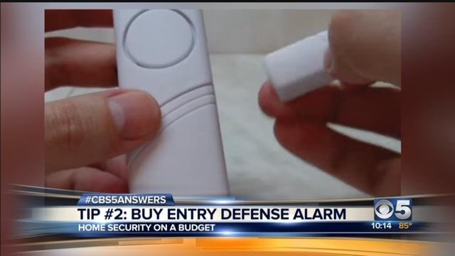 Home security systems on the cheap