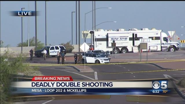 Mesa PD: Domestic fight leads to deadly double shooting