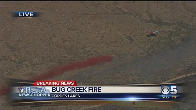 Bug Creek Fire shuts down I-17