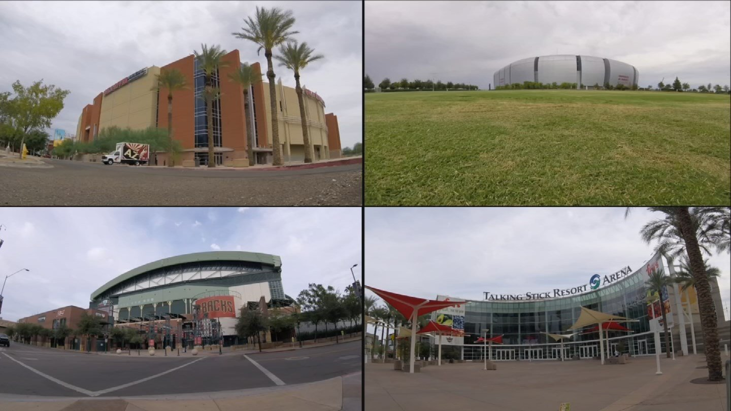 Three of the major professional franchises in the Valley want or demand new venues even though their current homes aren't paid off. (Source: CBS 5 News)