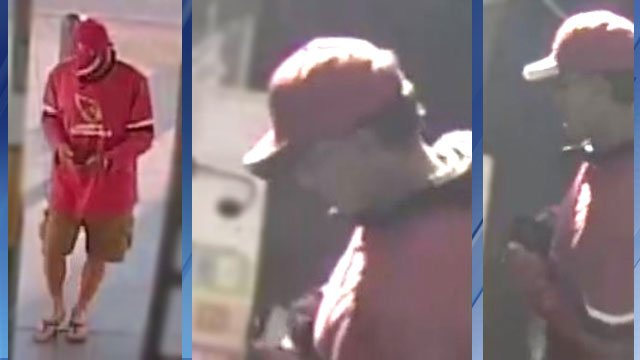 Surveillance images show Walgreens robbery suspect (Source: Silent Witness)