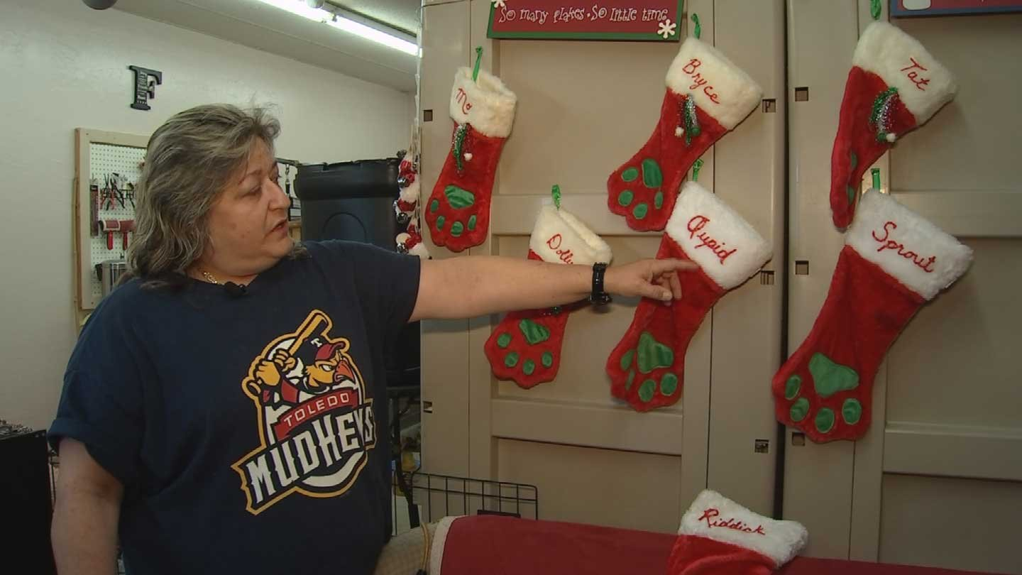 The family stockings (Source: KPHO/KTVK)