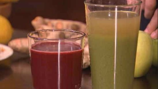 Juicing is seen as a short-term fix to lose weight. (Source: 3TV/CBS 5)