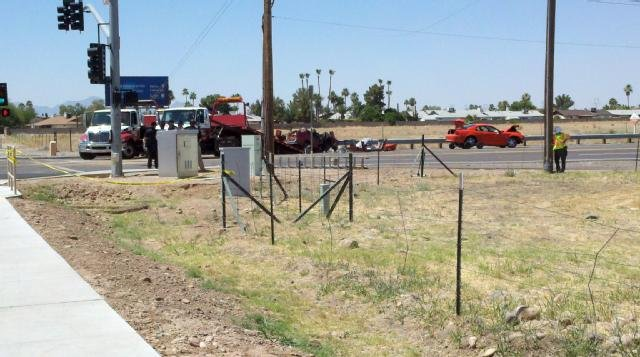 Peoria Az Car Crash