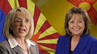 AZ Governor Jan Brewer, NM Governor Susana Martinez