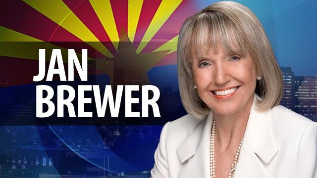 Arizona Gov. Jan Brewer