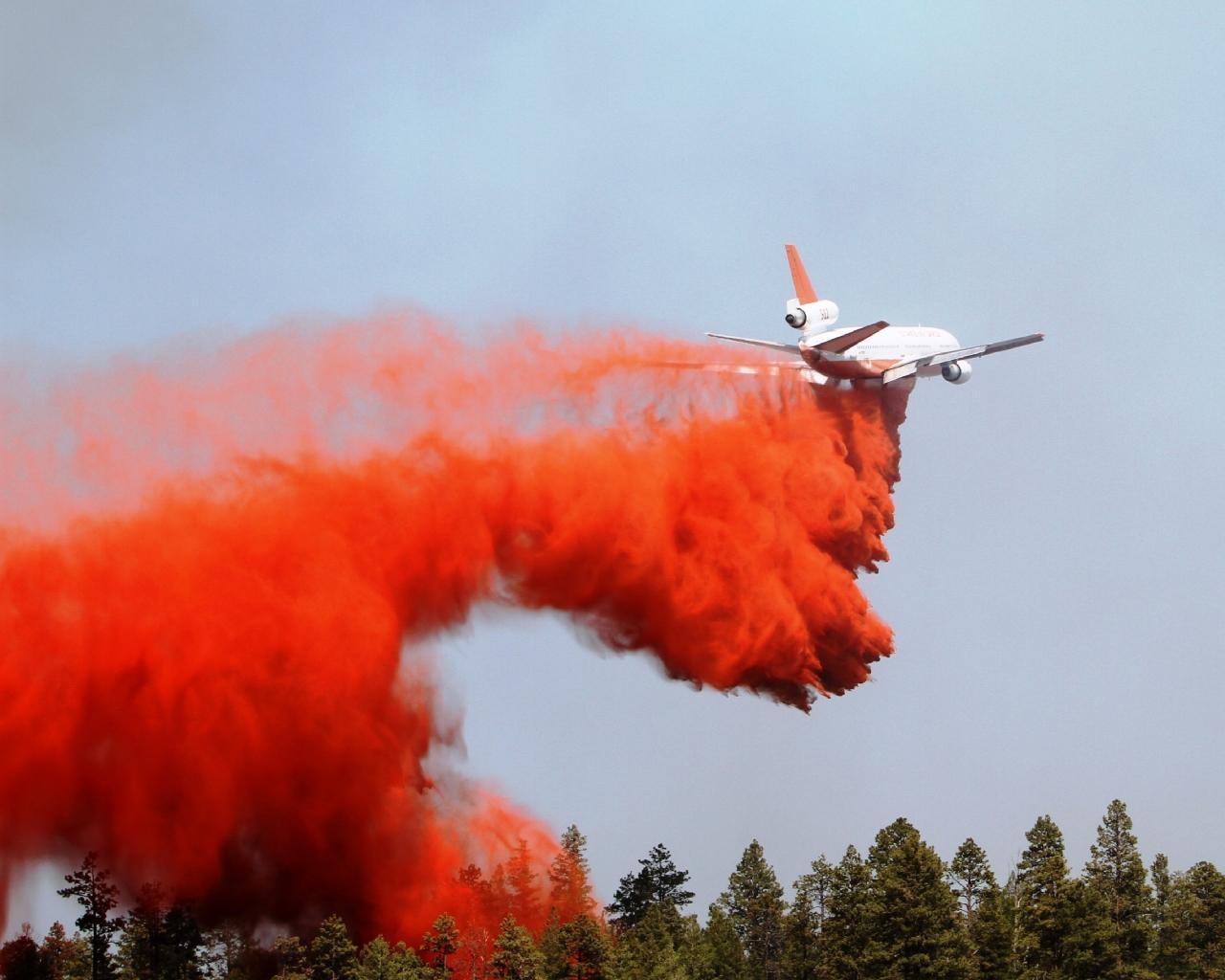 © CBS 5 / Wallow Fire one year ago