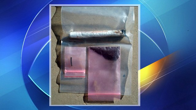 Improvised explosive device that police found