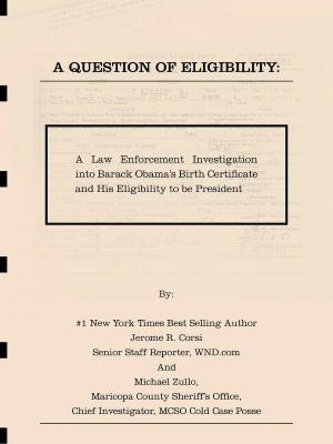 Sheriff Arpaio\'s birth certificate investigation in e-book ...
