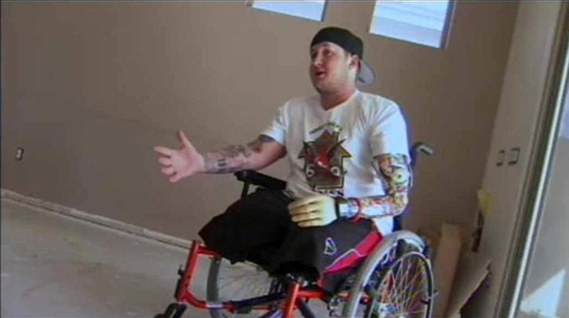 Joshua Bullis of Peoria lost his left leg and arm and eventually his right leg after stepping on an IED while serving in Afghanistan.