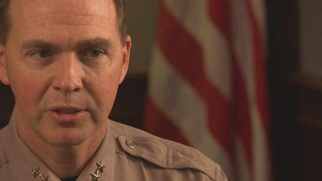 Sheriff's Sgt. Dave Trombi