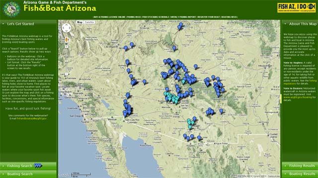 Az game and fish reveals online fishing map 3tv cbs 5 for Az game fish