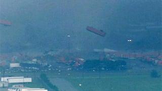 CNN/WFAA: Tornado tosses semi into the air
