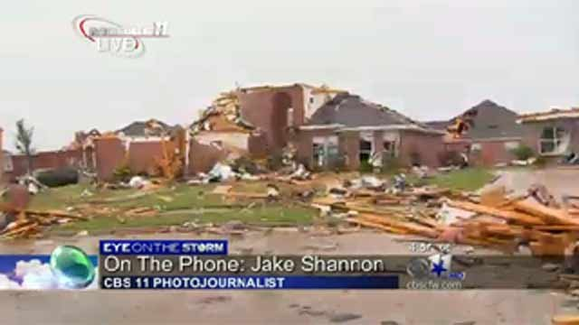 KTVT: Damage in Forney, Texas