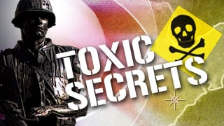 "© ""Toxic Secret"" reports win CBS 5 a Peabody Award."