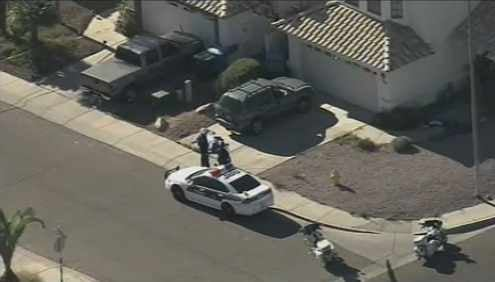 A Phoenix police officer was involved in a shooting Tuesday morning.