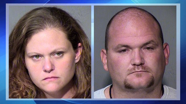 Brenda, left, and Lancelot Lipe, arrested after 2 meth labs are found in a Sun City home.