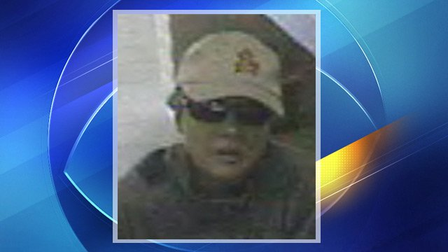 Mesa bank robbery suspect