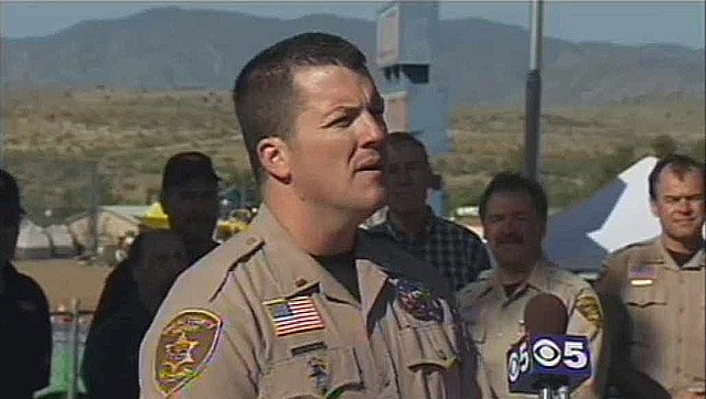 Lt. Jeff Newnum of the Yavapai County Sheriff's Office announces that full-time residents and business can return to Crown King immediately.