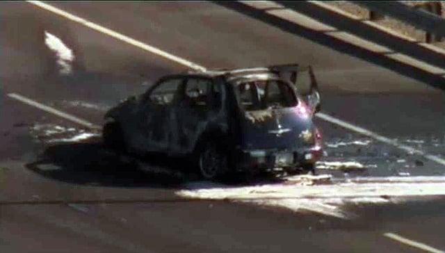 Sheriff: 4 Die In Fiery Crash Near Phoenix