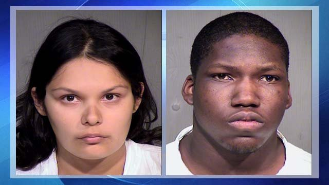Ashley Buckman, left, and James Edwards will now face homicide charges in the death of 4-year-old Toryn Buckman.