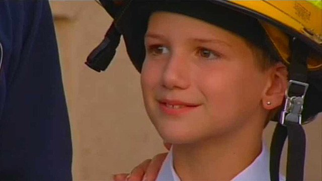 Bradley Mitchell is only 10, but his actions in saving his mother's life were those of a mature adult.