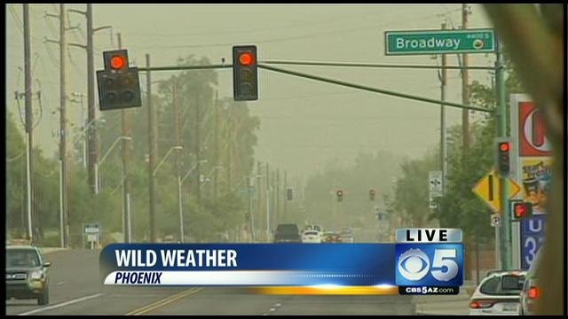 Saturday's Phoenix dust storm